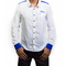 Praga White Long Sleeve Shirt