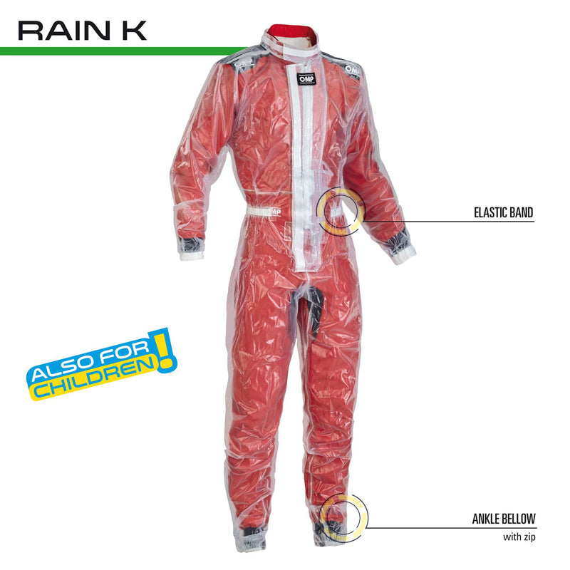 OMP Karting Rain Suit