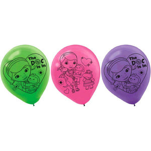 Disney Doc McStuffins Latex Balloons by amscan  013051466107