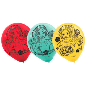 Disney Elena of Avalor Latex Balloons by amscan  013051694326