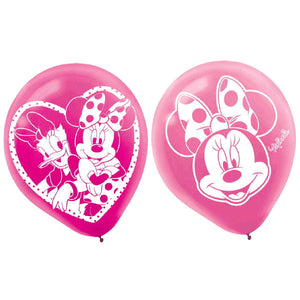 Disney Minnie Mouse Printed Latex Balloons by amscan  013051332341