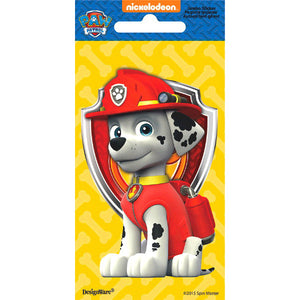 Paw Patrol Marshall Jumbo Sticker by amscan  013051599072