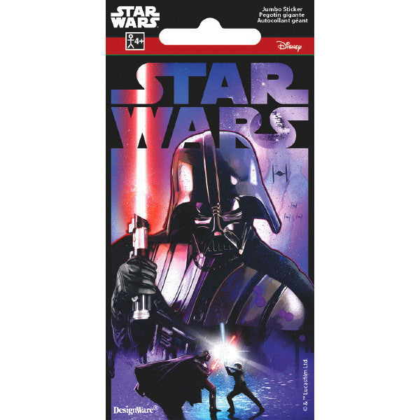 Star Wars Classic Jumbo Sticker