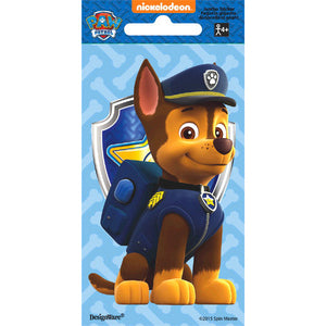 Paw Patrol Chase Jumbo Sticker by amscan  013051599300