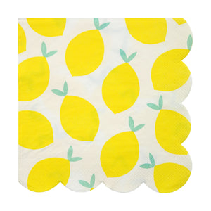 Lemon Napkins by Meri Meri