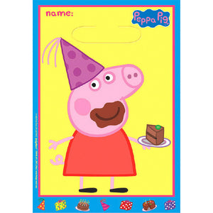 Peppa Pig Party Favor Bags by amscan