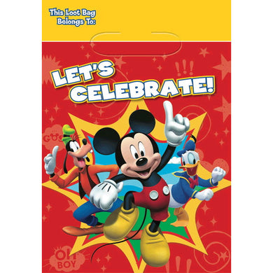 Mickey Mouse Party Favor Bags