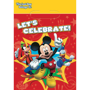 Mickey Mouse Party Favor Bags by amscan  013051332129