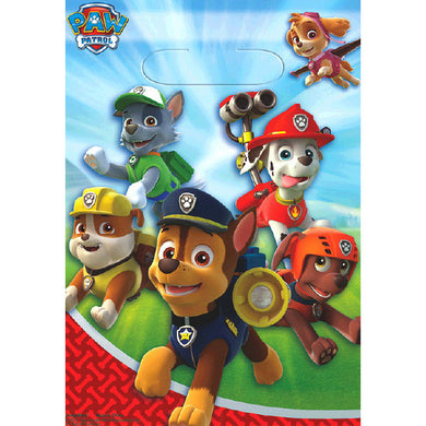 Paw Patrol Party Favor Bag