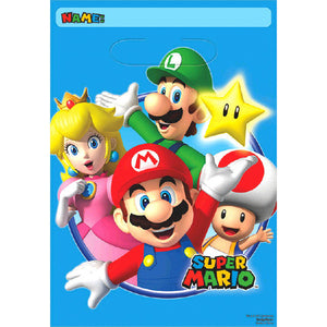 Super Mario Brothers Party Favor Bags by amscan  013051600013