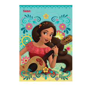 "Disney's Elena of Avalor party favor bags, perfect size for your party guests.  size: 9"" x 6 1/2"", 8 per package"