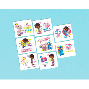 "Disney Doc McStuffins Temporary tattoos, 16 per package, 2"" x 1 3/4"""