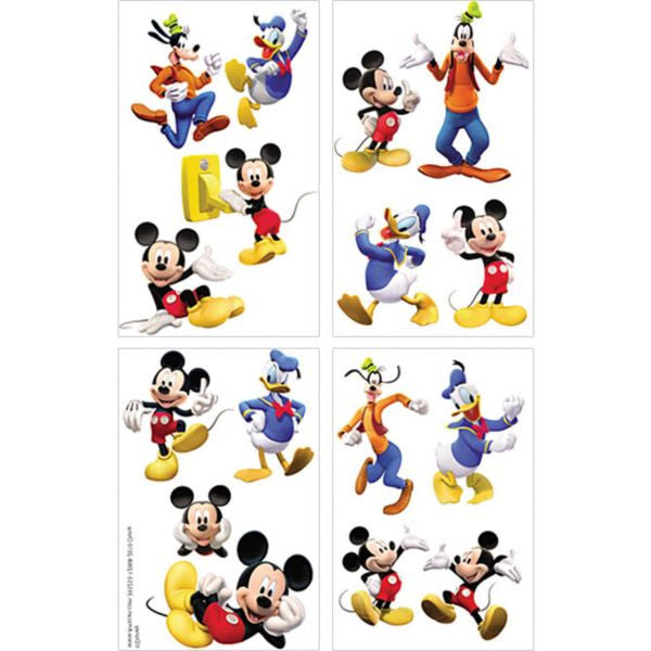 Disney Mickey Mouse Temporary Tattoos