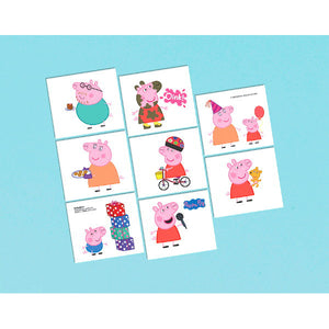 Peppa Pig Temporary Tattoos by amscan  013051565350