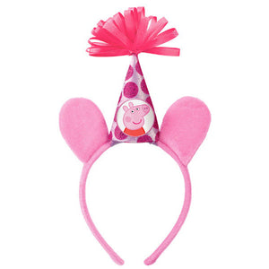 Peppa Pig Deluxe Headband by amscan  013051596576