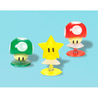 Super Mario Brothers Character Pop-Up favors