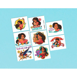 Disney Elena of Avalor Temporary Tattoos by amscan  013051694463