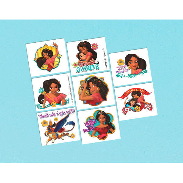 Disney Elena of Avalor Temporary Tattoos