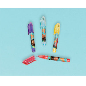 "Disney Elena of Avalor mini pen favors, size 3 3/8"" x 3/8"""