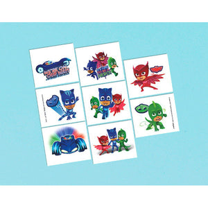 PJ Masks Temporary Tattoos by amscan  013051711955