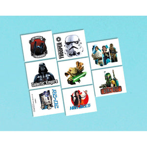 Star Wars Classic Temporary Tattoos