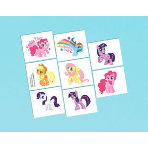 My Little Pony Temporary Tattoos by amscan  013051299002