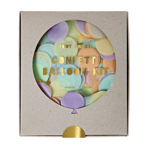 Pastel Confetti Balloon Kit by Meri Meri  9781682084175
