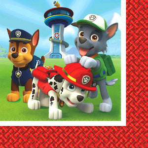 Paw Patrol Luncheon Napkins by amscan  013051537692