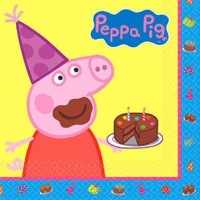 Peppa Pig Luncheon Napkin