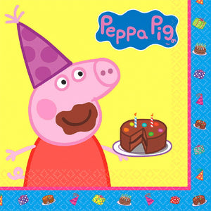 Peppa Pig Luncheon Napkin by amscan  013051565381