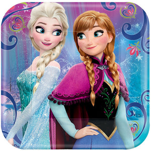 Disney Frozen Square Plates by amscan  013051641443