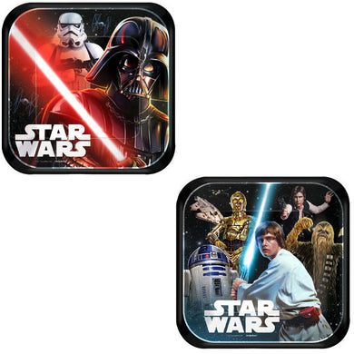 Star Wars Classic Square Plates