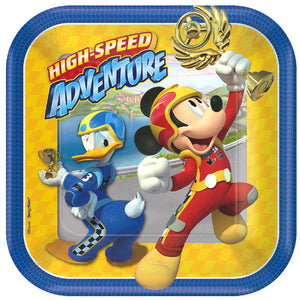 Disney Mickey and The Roadster Racers Plates by amscan  013051737429