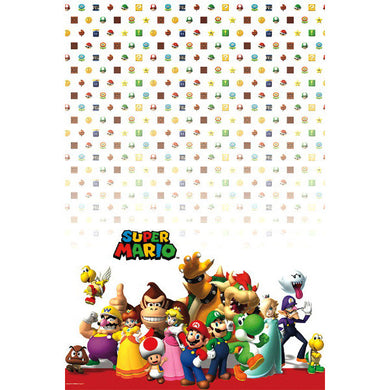 Super Mario Brothers Table Cover