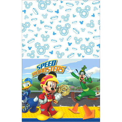 Disney's Mickey and the Roadster Racers table cover, perfect compliment to your little one's Roadster party!  size 54