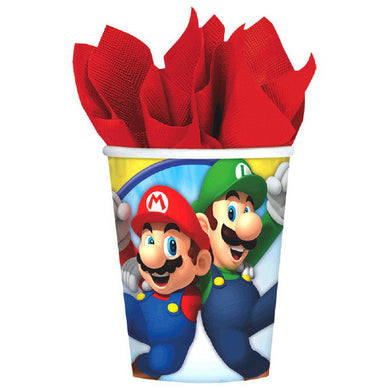 Super Mario Brothers Party Cups