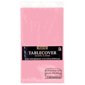 Pink Table Cover by amscan  048419530503