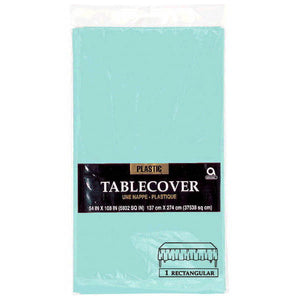 Robins Egg Blue Table Cover by amscan  0130512266400