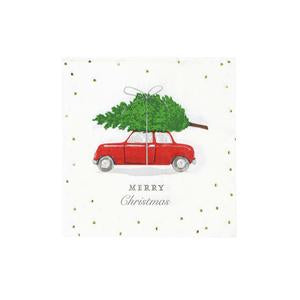 Botanical Berry Car Cocktail Napkin by Talking Tables  5052715092738
