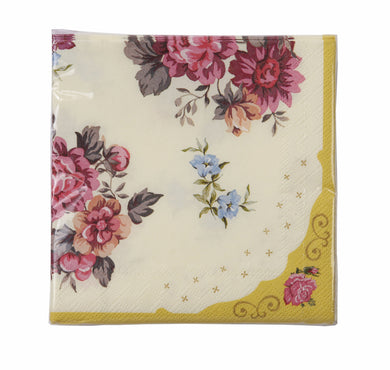 Lovely new floral napkins! A beautifully designed napkin to add to our Truly Scrumptious range!  30 Paper Napkins, approx. 10