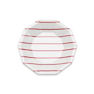 Striped Small Plates by daydream society  856801007003  856801007027  856801007058