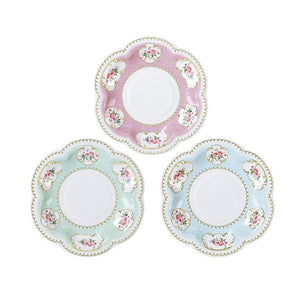Truly Chintz Extra Small Paper Plates by Talking Tables  5052715088656