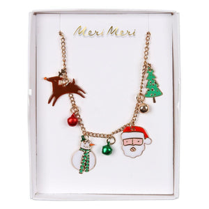 Christmas Charm Necklace by Meri Meri  9781534017443