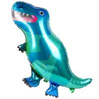 Party Dinosaur XL Foil Balloon by Talking Tables  5052715100167
