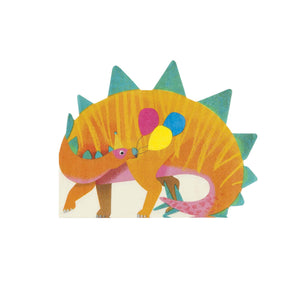 Party Dinosaur Shaped Napkins by Talking Tables  5052715099737