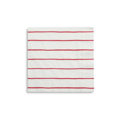 Striped Small Napkins