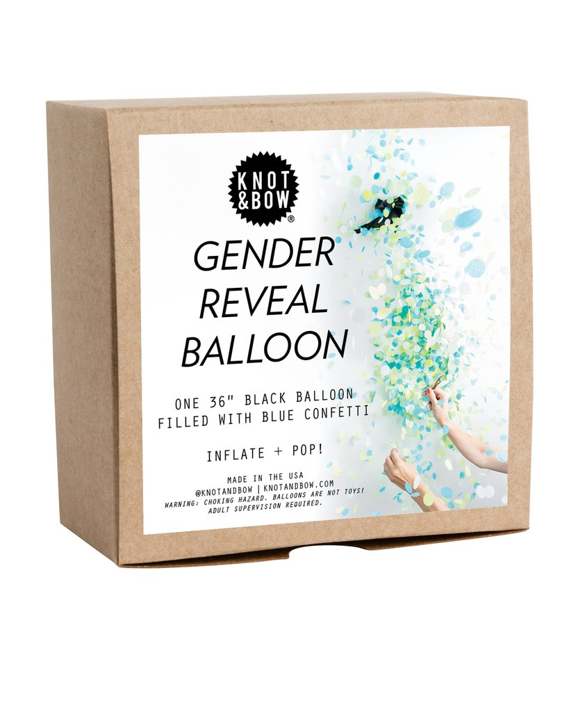 Jumbo Gender Reveal Balloon (Blue)