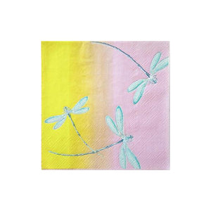 Cynthia Rowley Golden Hour Floral Ombre Cocktail Napkins by Harlow & Grey  612608498310