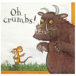 The Gruffalo Napkins by talking tables  5052714063067