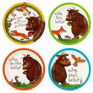 The Gruffalo Plates by talking tables  5052714063043